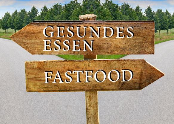 Fast Food vs gesundes Essen - Über uns Essen auf Rädern