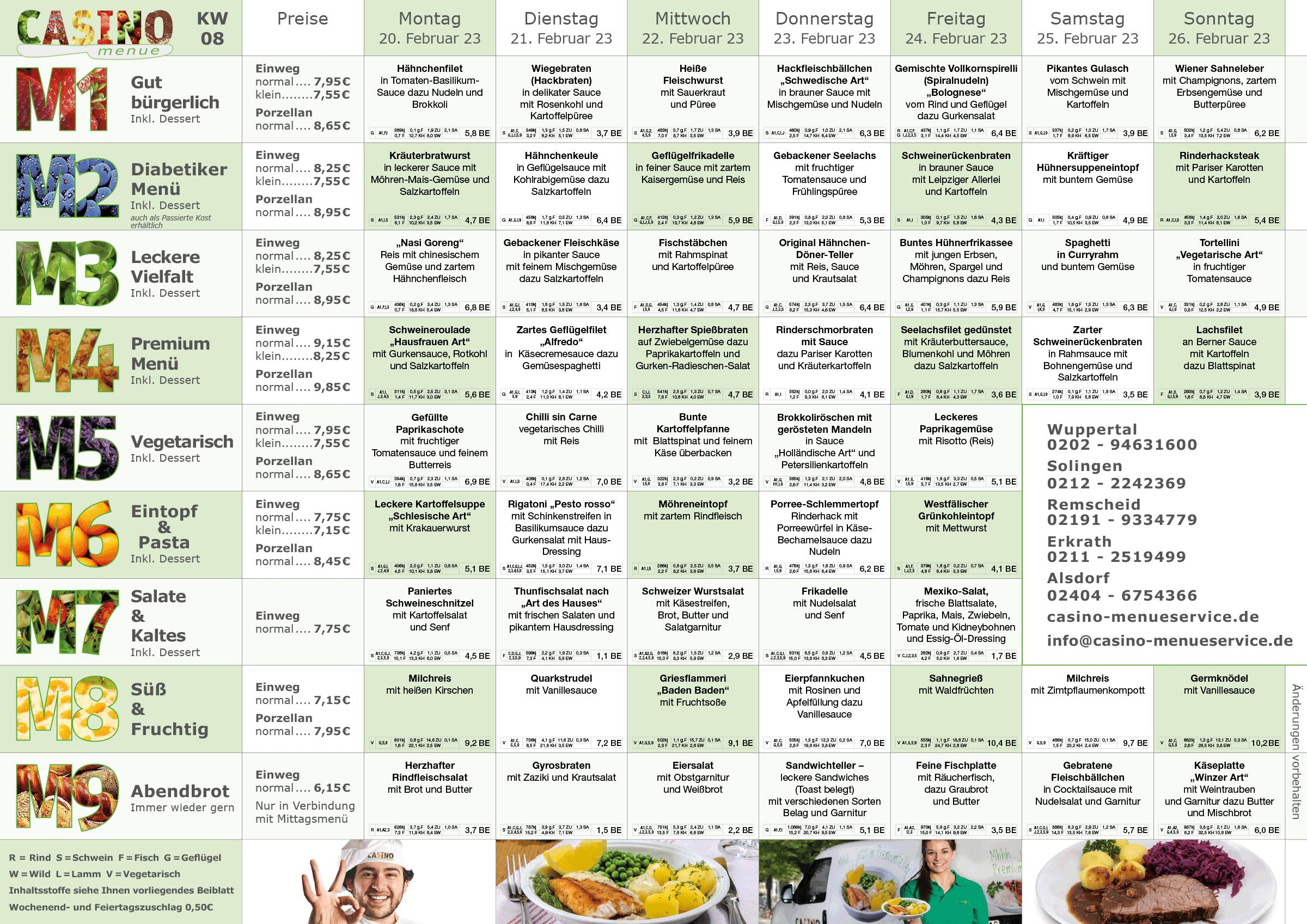 familien kw08 - Senioren Essen auf Rädern