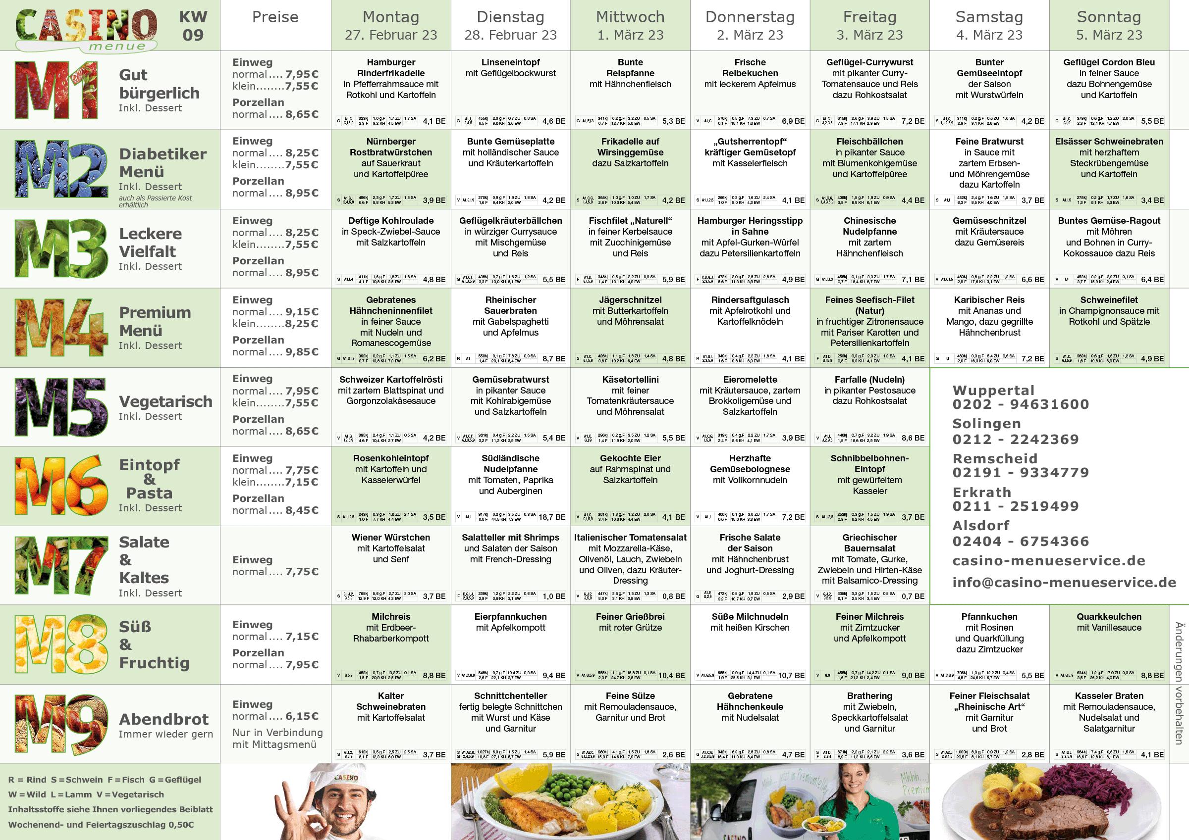 familien kw09 - Senioren Essen auf Rädern