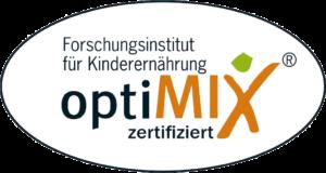 optiMIX Guetesiegel 300x160 - KITAs Essen auf Rädern