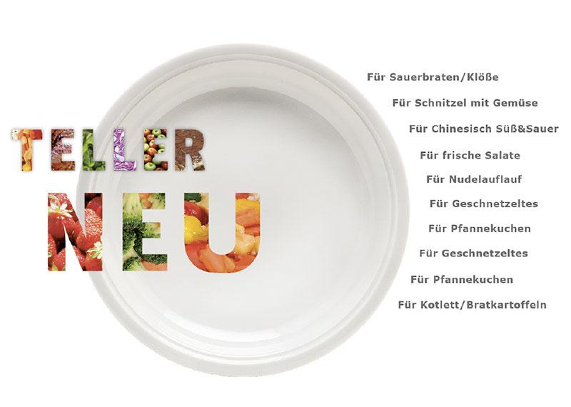porzellantellern 4 neu - Premiumteller Essen auf Rädern